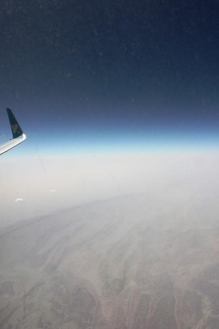 パキスタン上空