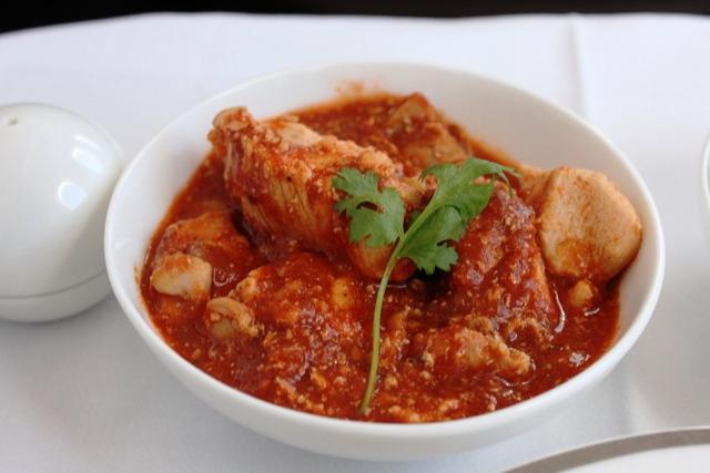 チキンのトマトソース(チキンサローナ)