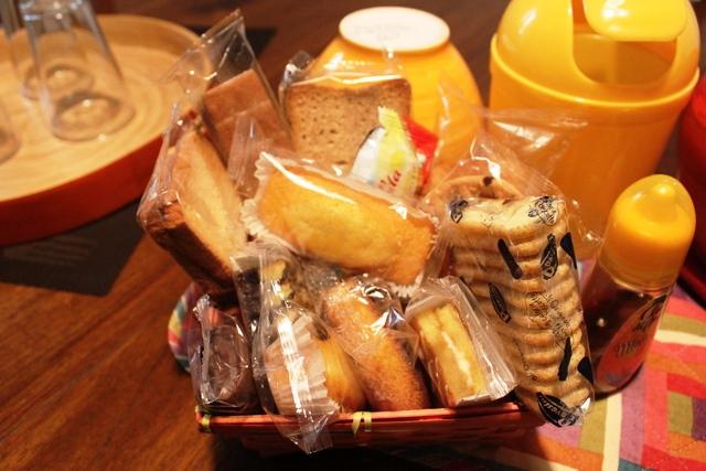パッケージの菓子パン