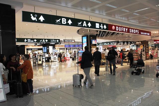 空港免税店売り場