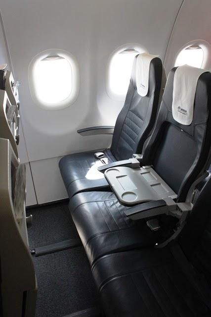 エーゲ航空ビジネスクラス