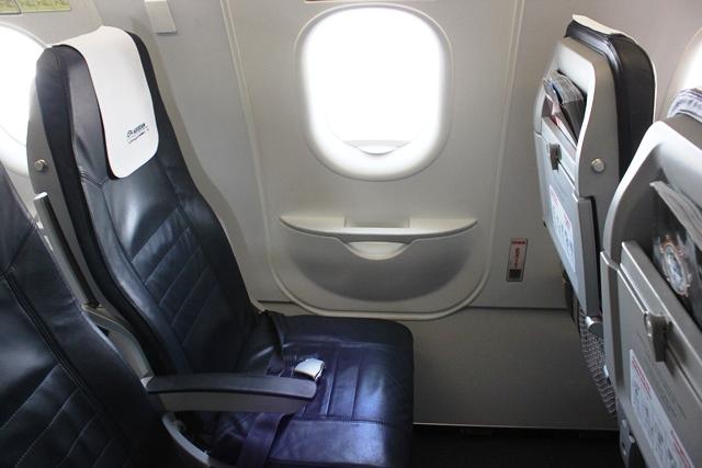 エーゲ航空 エコノミークラス 搭乗記:僕の座席
