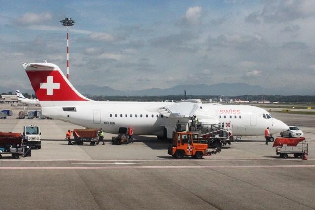 スイス国際航空機