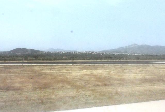 アテネ空港到着