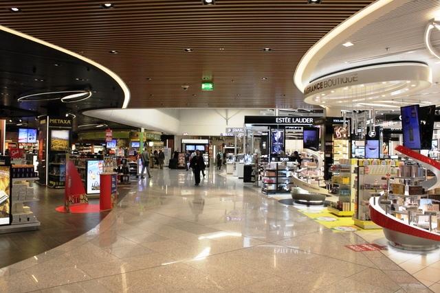 アテネ空港免税店