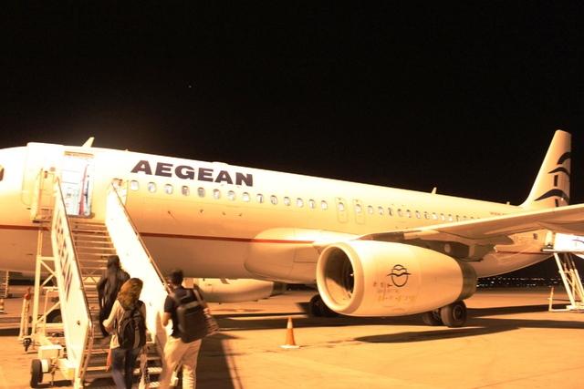 エーゲ航空A320-200機