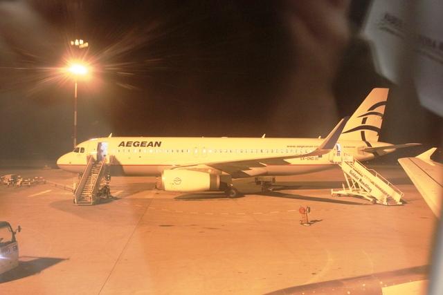 エーゲ航空機体