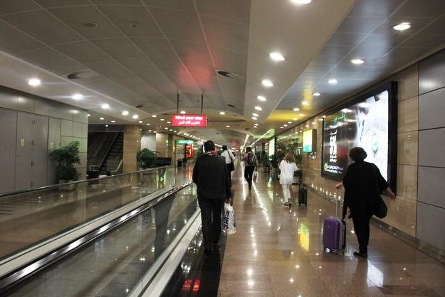 カイロ空港第3ターミナル到着ホール