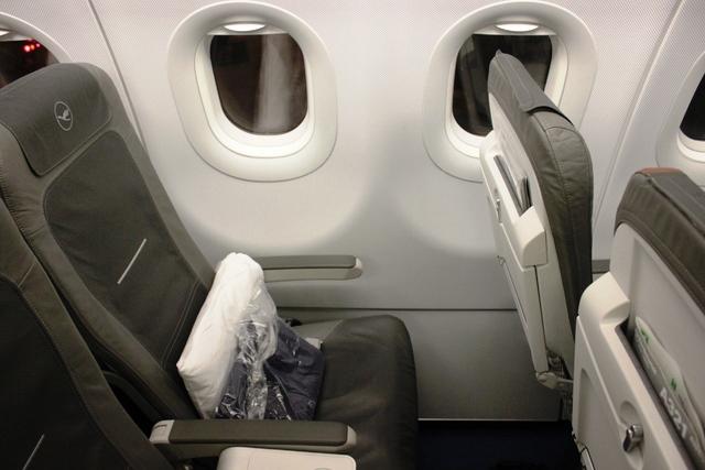 ルフトハンザ A321 ビジネスクラス:僕のシート2A