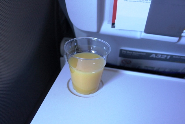 オレンジジュースを追加で
