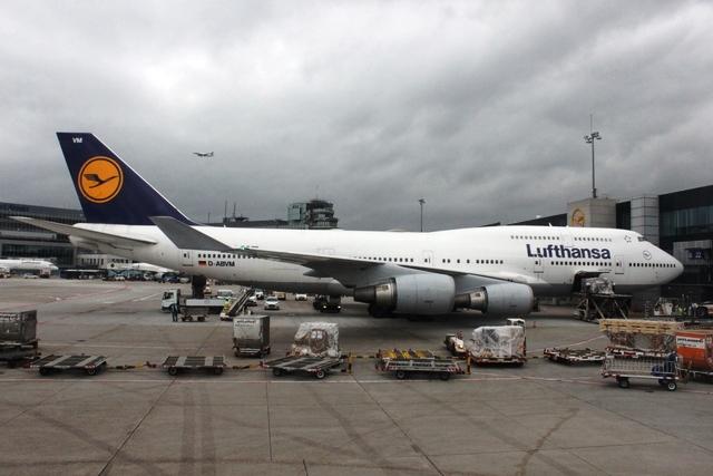 ルフトハンザB747-400機