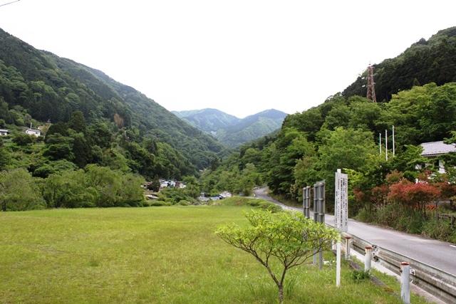 玄倉バス停付近の景色
