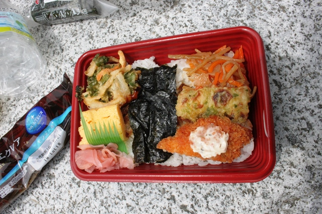 昼食の弁当