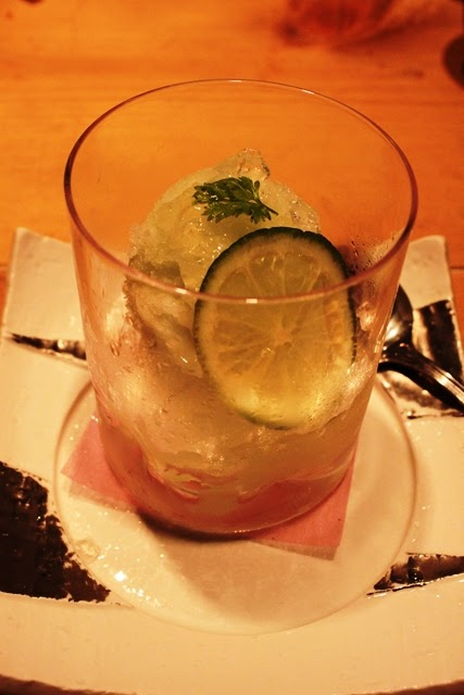 日本酒シャーベット