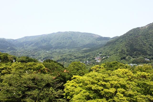箱根の全景