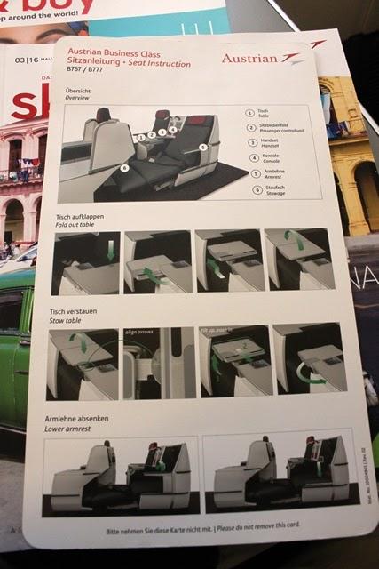 シートの操作方法案内板(表)