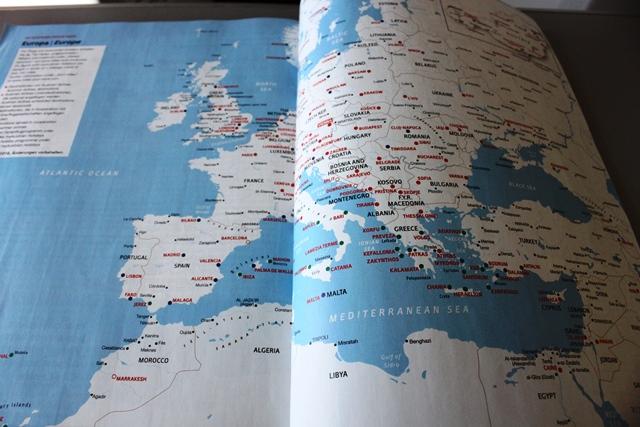 ヨーロッパ路線図