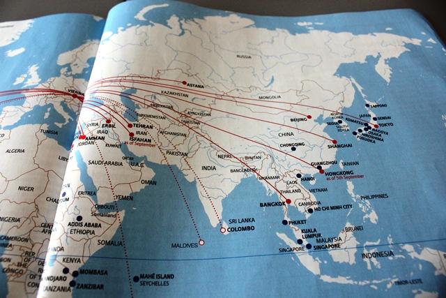 アジア路線図