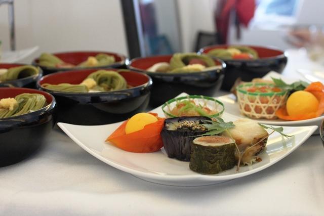 和食の前菜盛り合わせ