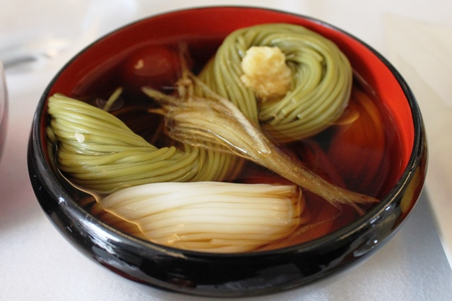 白素麺&茶素麺