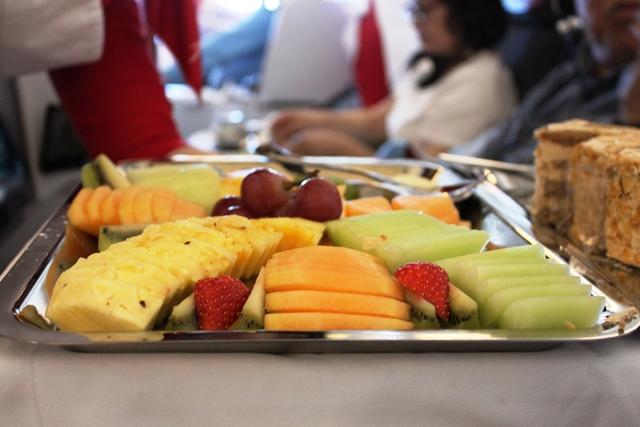 フルーツの皿