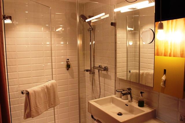シャワーと洗面所