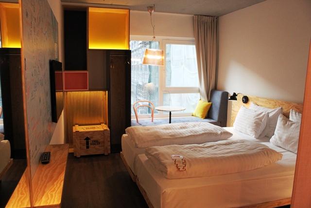 オーストリア ドイツ 比較:お部屋