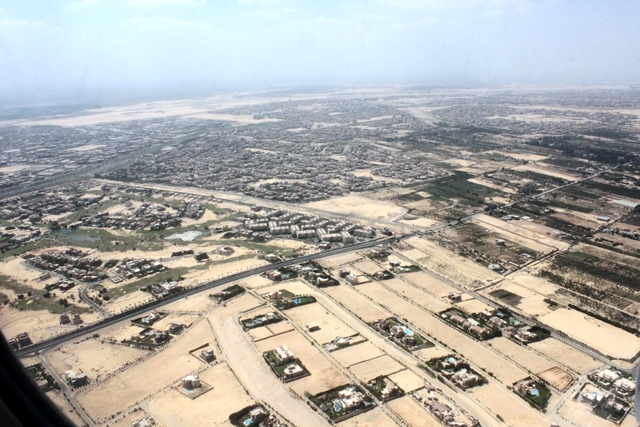 カイロ国際空港付近