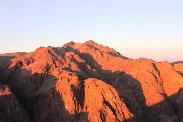 エジプト最高峰カトリーナ山