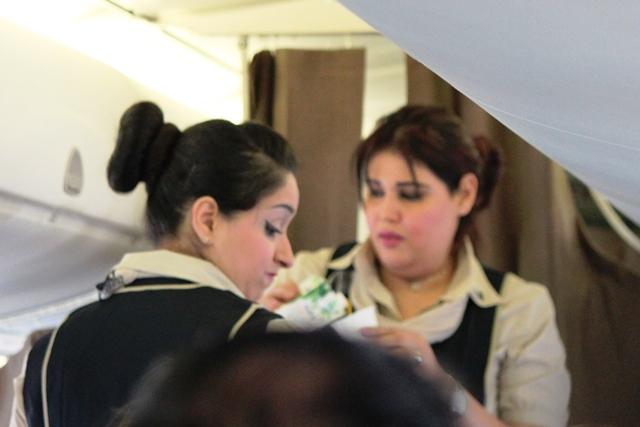 エジプト航空クルー