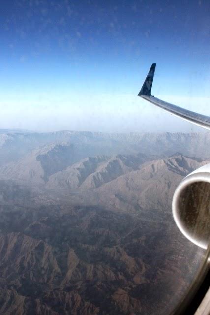オマーンの山脈