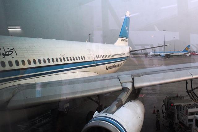 クウェート航空A340-300機