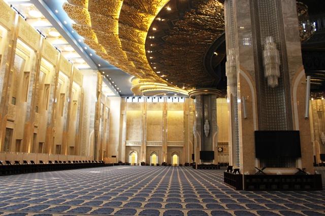 クウェート モスク:モスク内部