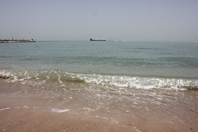 市内のビーチ