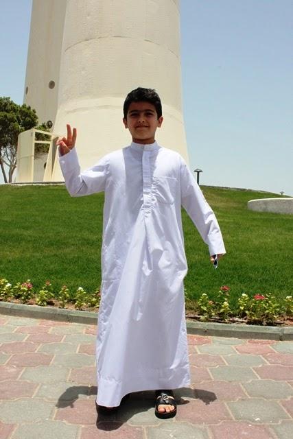 クウェート人の子供