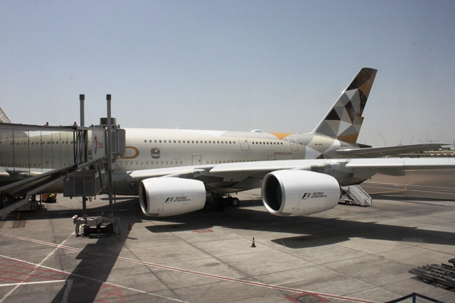 これがムンバイ行きA380機