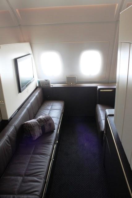 エティハド A380 ファーストクラス:僕の個室4K