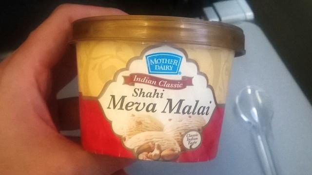 アイスクリームはインド風