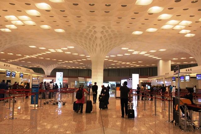エアインディア 777 エコノミー:チェックインカウンター