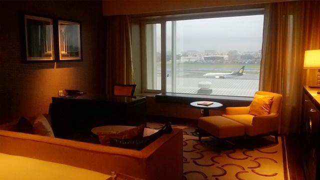 ムンバイ空港 ホテル:部屋からの景色