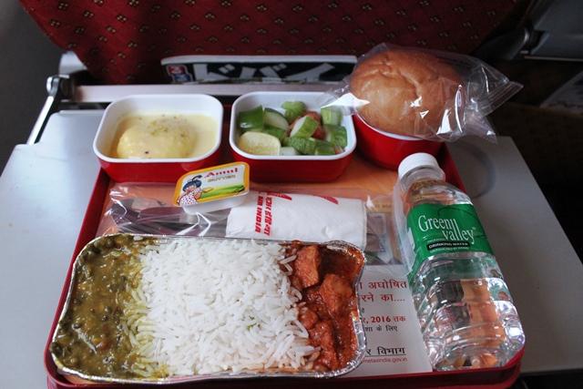 エアインディア機内食