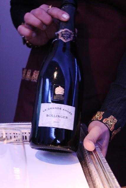 美しいシャンパンボトル