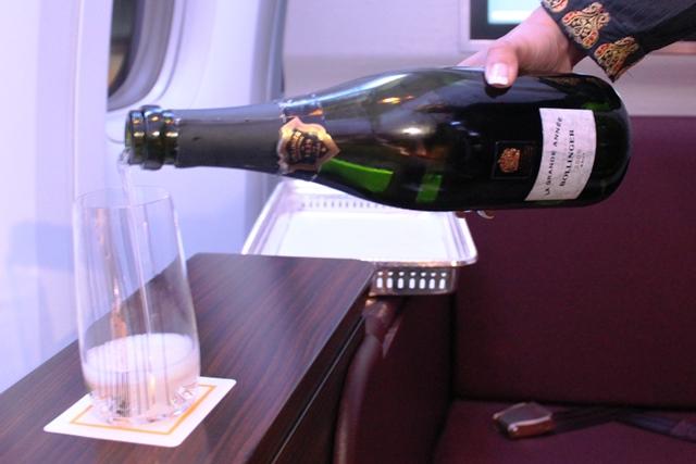 シャンパンのお代わり
