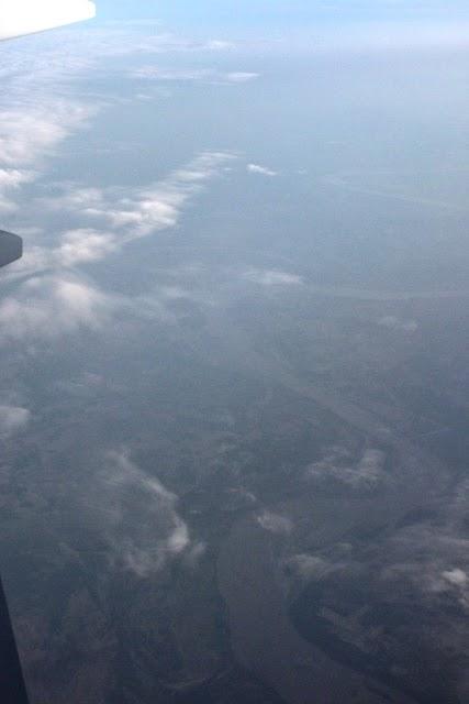 インダス川上空