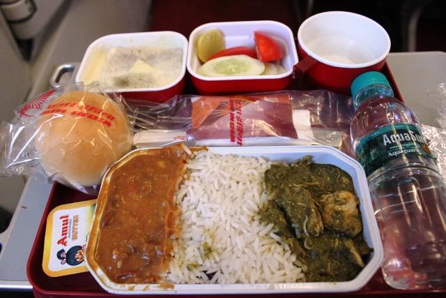 機内食の「軽食」