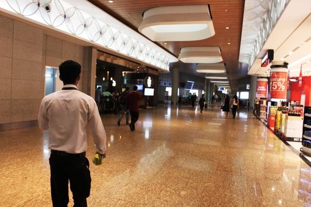 ムンバイ空港GVKラウンジ