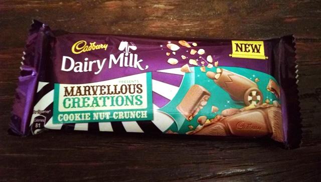 Cadbury Dairy Milk Cookie Nut Crunch