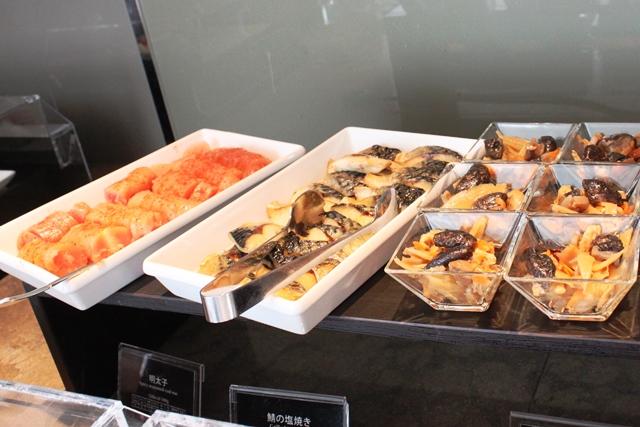 明太子と鯖の塩焼き