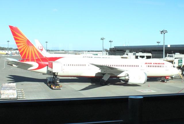 エアインディアのB787機