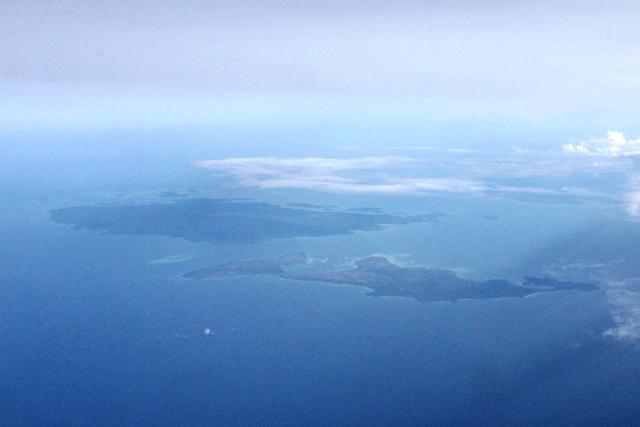 ボルネオ島付近